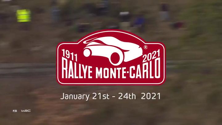 Rally Montecarlo 2021 Máxima emoción desde el inicio
