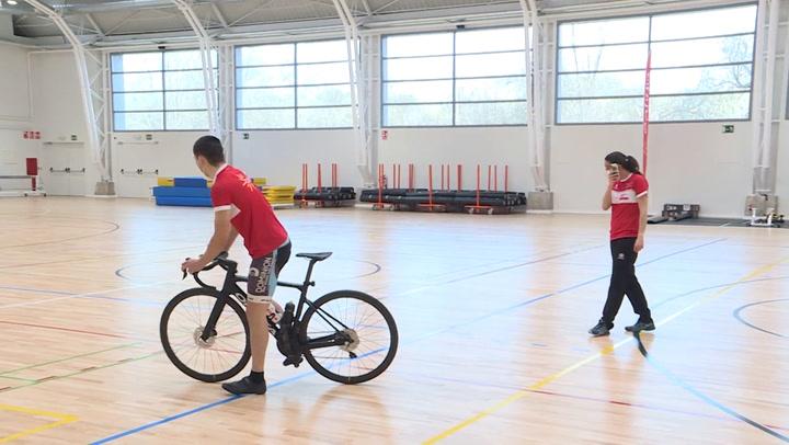 Concentración del Equipo Ciclista Cofidis de Promesas Paralímpicas