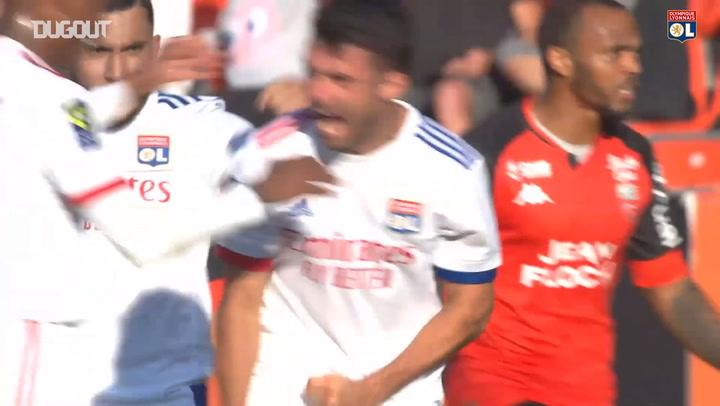 Léo Dubois' great goal vs Lorient