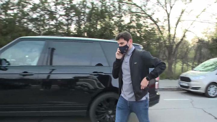 Iker Casillas, firme en su actitud ante las preguntas sobre su separación