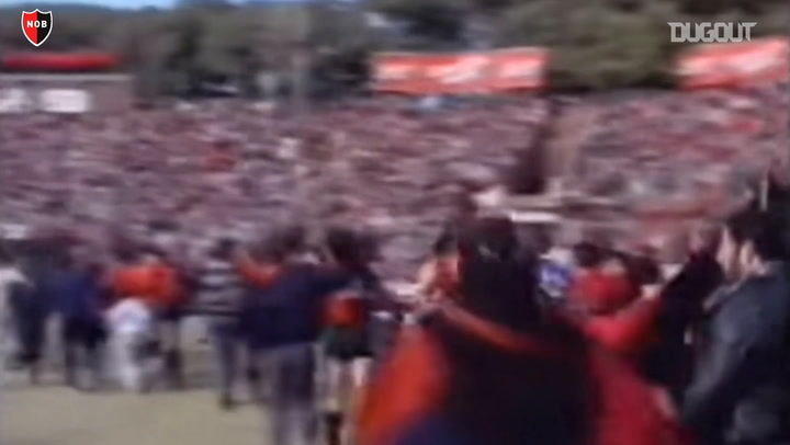 Newell's Old Boys' historic 1988 title