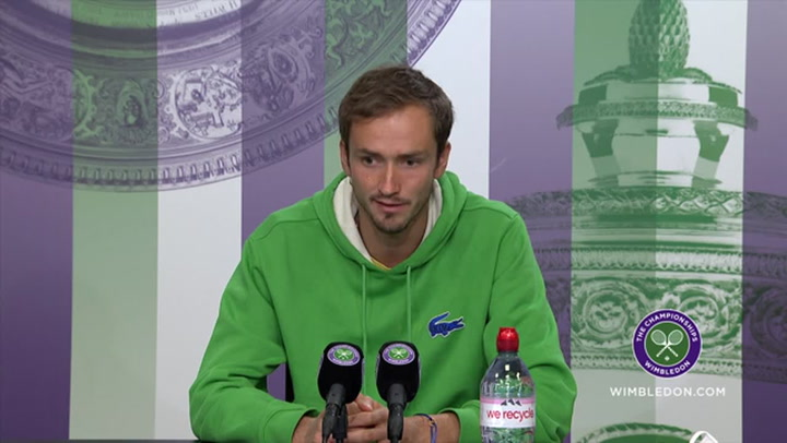Potential world number 1 ranking is 'mind-blowing' - Daniil Medvedev after Wimbledon win