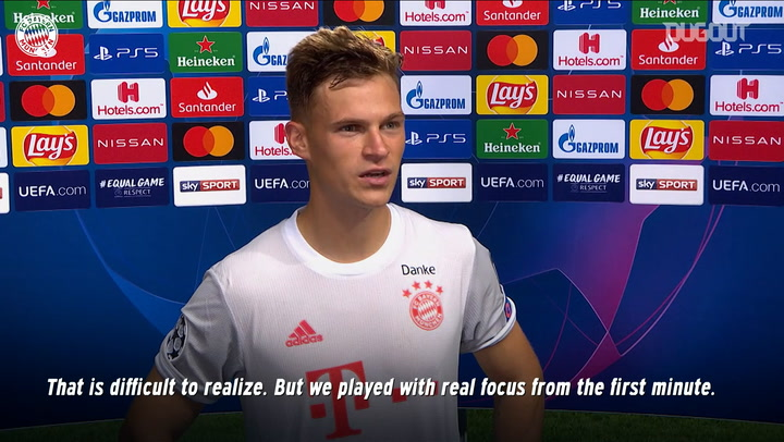 FC Bayern stars react to the 8-2 win over FC Barcelona