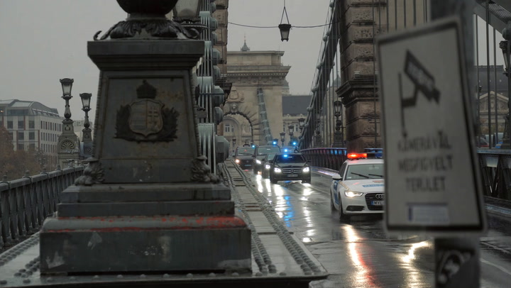 Így érkezett Putyin Budapestre
