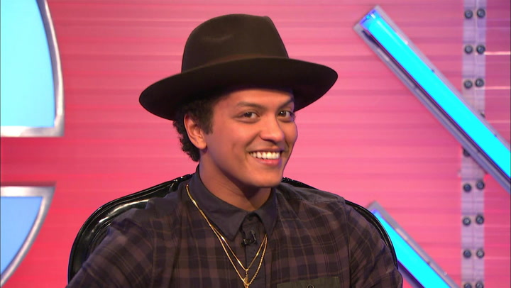 Bruno Mars' Hilarious Interview Outtakes