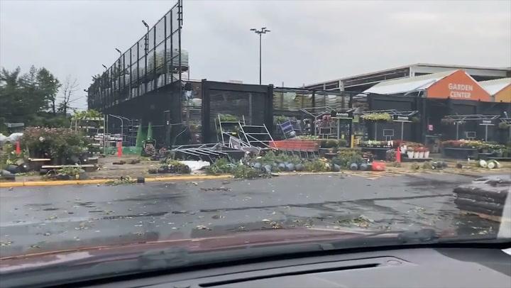 Tornado-warned storm leaves trail of damage through eastern Pennsylvania