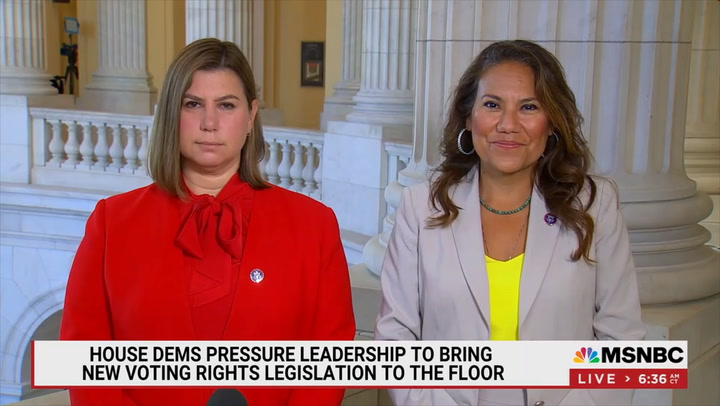 Dem Rep. Escobar: Unless We Pass Voting Laws, 'We Are Going to Lose Our Democracy' When TX Dems Return