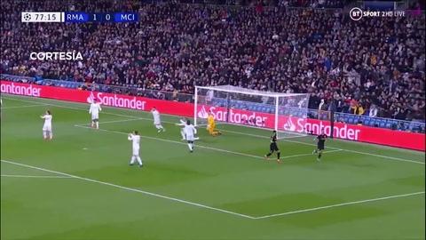 ¿Falta? El gol de Gabriel Jesús del Manchester City ante Real Madrid