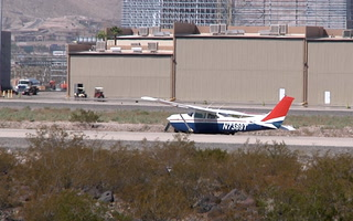 Passengers escape injury after hard landing at Henderson airport