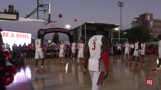 UNLV Basketball Hosts Scarlet and Gray Showcase – Video