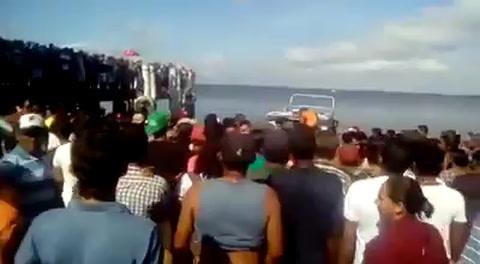 Al menos siete muertos y varios desaparecidos al naufragar un barco en el norte de Brasil