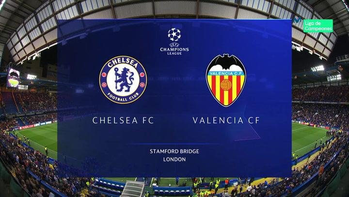 Champions League: Resumen y Goles del Chelsea-Valencia