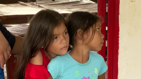 Los hijos de la paz en Colombia crecen en campos minados