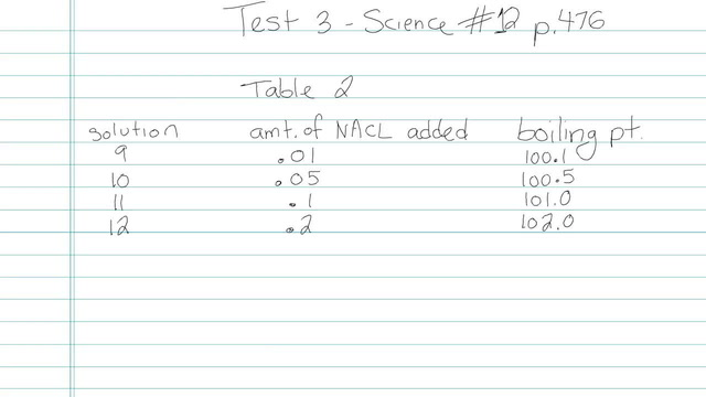 Test 3 - Science - Question 12