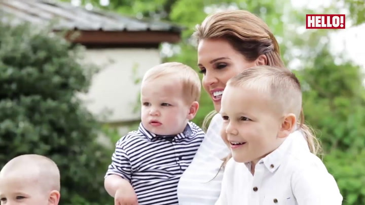 Behind the scenes with Danielle Lloyd and her three boys