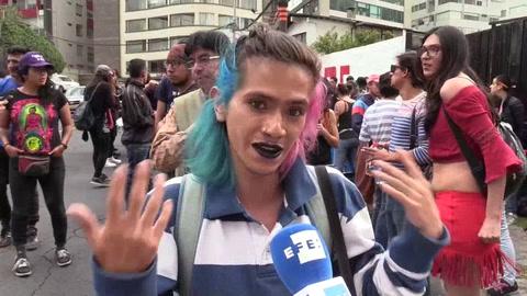 Besada por los derechos LGTBI en Quito porque el