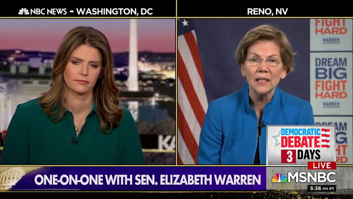 Warren on Bloomberg: Anyone Blaming Blacks for 2008 Financial Crisis 'Is Not Someone Who Should Be Representing Our Party'
