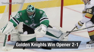 Golden Edge: Golden Knights Win Opener