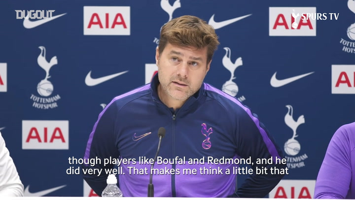 Mauricio Pochettino undecided on who will play right-back against Brighton