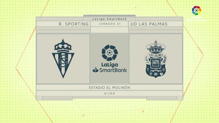 LaLiga SmartBank (J31): Resumen y goles del Sporting 4-0 Las Palmas