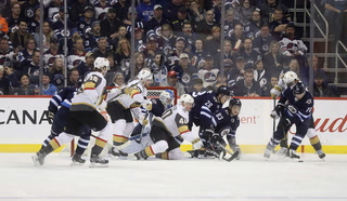 Golden Edge: Golden Knights Put up Record Amount Shots but Fall Short – VIDEO