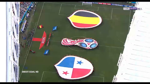 Sólida victoria de la generación dorada de Bélgica frente a Panamá