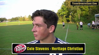 Stevens the Defender on Playing Offense