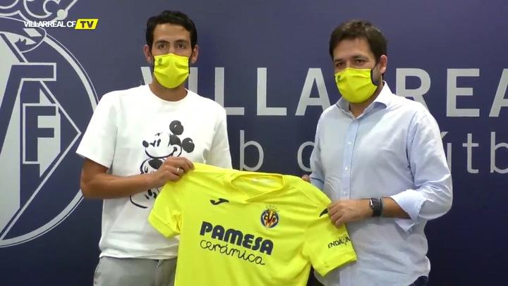 El Villarreal oficializa el fichaje de Dani Parejo