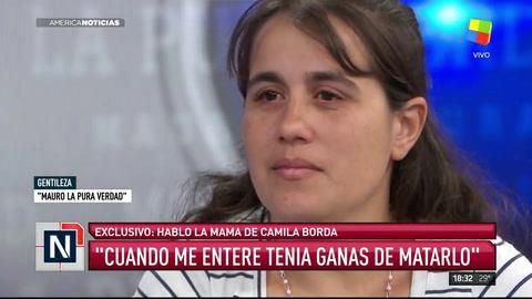 Madre de Camila Borda