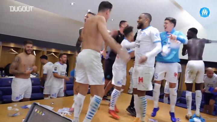 Marsilya PSG Karşısında 20 Maç Sonra Kazandı
