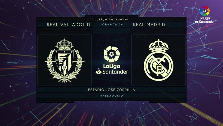 LaLiga Santander (J24): Resumen y gol del Valladolid 1-0 Real Madrid