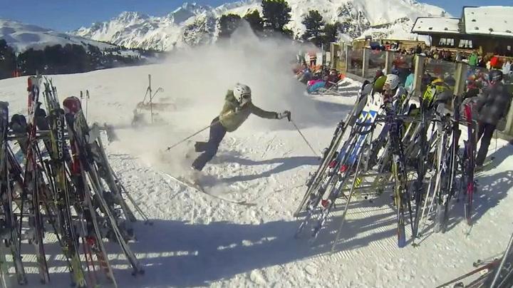 Skiturist glemte å ploge - endte i fullt kaos