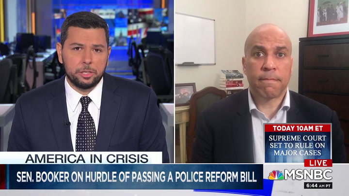 Cory Booker: Trump's 'Demagoguery' Is Making Us 'Weaker as a Nation'