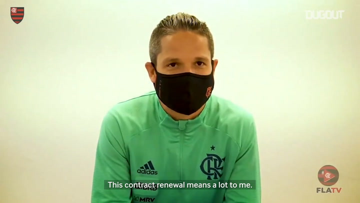 Diego Ribas discusses his new Flamengo contract