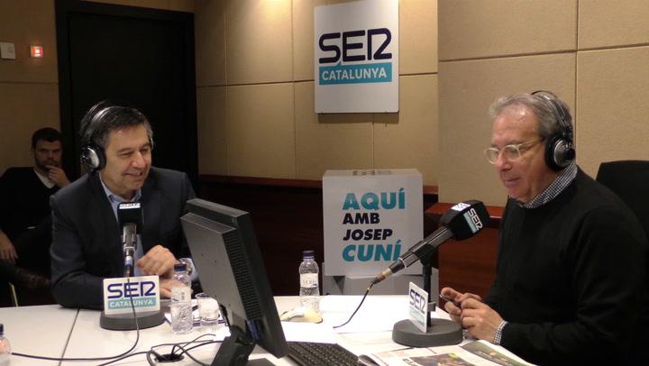 Josep Maria Bartomeu habla sobre De Jong y De Ligt en la Cadena SER
