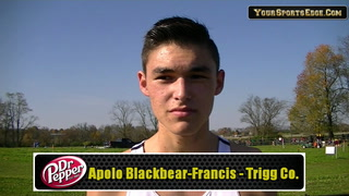 Blackbear-Francis Glad to Run at State
