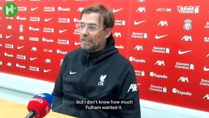 Klopp: 'My boys want to win football matches'