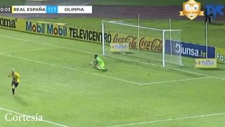 ¡Golazo! Rony Martínez volvió a marcar tras soberbio remate