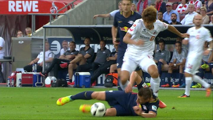1. FC Köln - RB Leipzig 1. - 45. (2016-2017)
