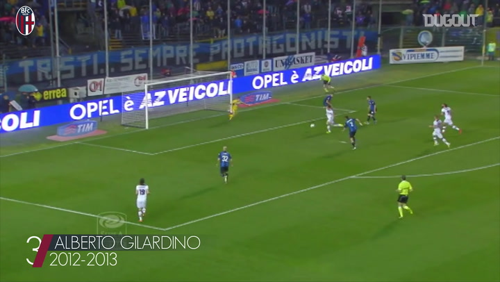 Bologna's top three goals at Atalanta