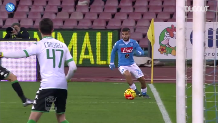 Best Napoli Goals Vs Sassuolo
