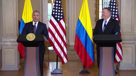 Presidente de Colombia llama a actuar contra Maduro por