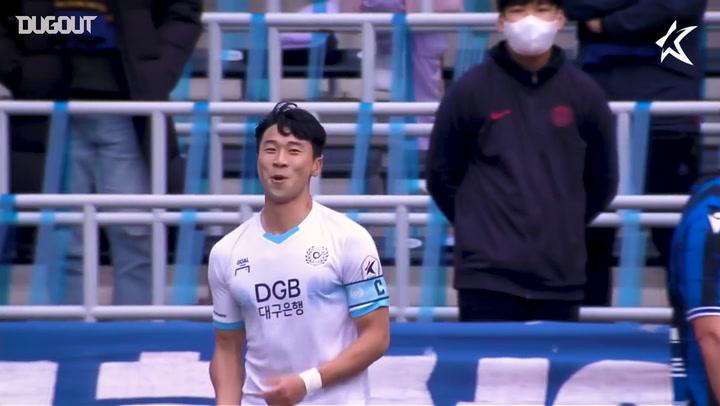 Những bàn thắng đẹp nhất của 2021 K League: Tuần 2