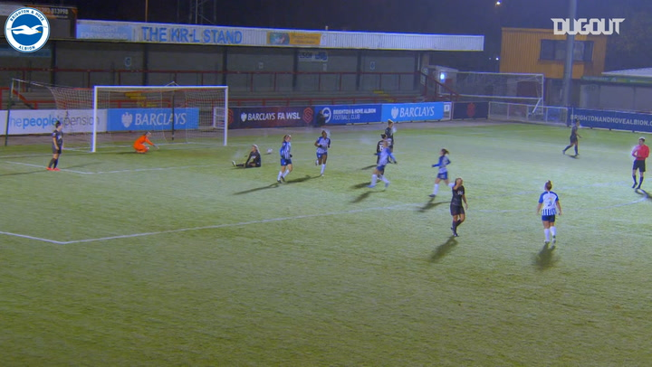 Aileen Whelan's bullet header vs Reading