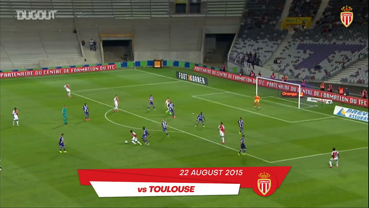 Thomas Lemar's five best goals with Monaco
