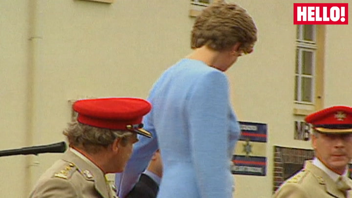 Royal baby countdown: Watch nine-year-old Prince Harry ride a tank