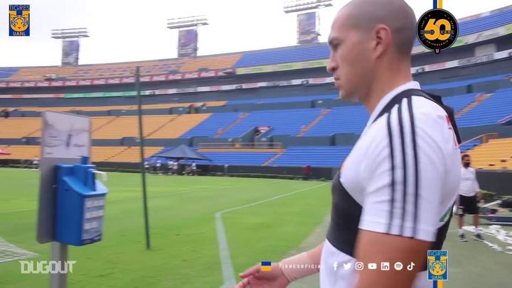 Tigres return to their stadium