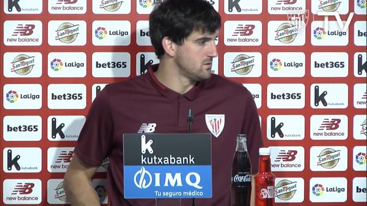 Rueda de prensa de Mikel San José