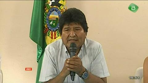 Evo Morales pide