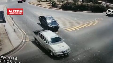Video muestra momento en que se accidenta y muere policía asignado a Seguridad